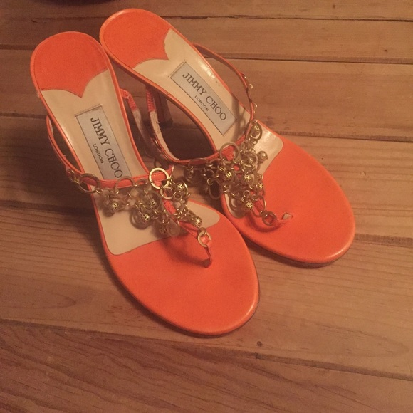 Jimmy Choo Shoes | Jimmy Choo Orange